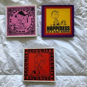 Peanuts! 3 Snoopy Life Reminder Books with Jackets